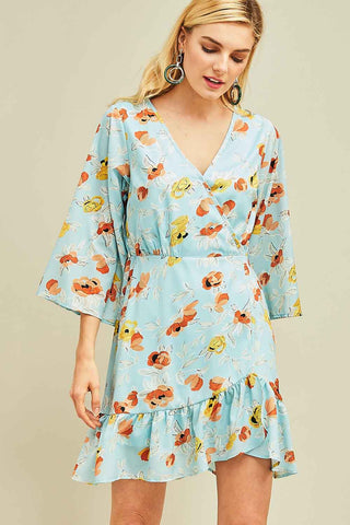 No Ifs or Buds Floral Dress