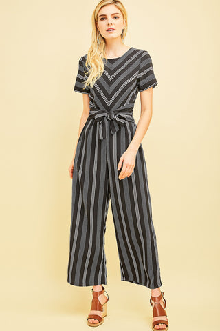 Stripe is Right Jumpsuit