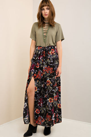 Bud Out Maxi Skirt - Sexton in the City Boutique