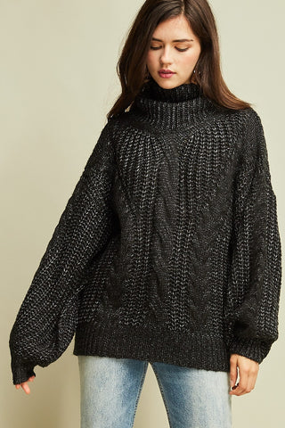 Out With the Cold Turtleneck - Sexton in the City Boutique