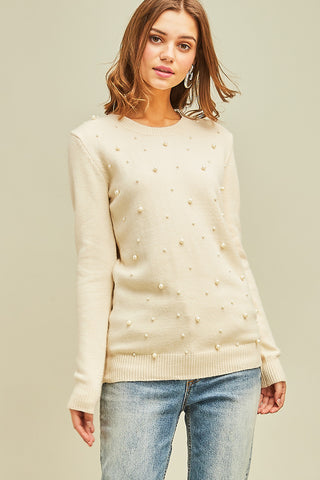 Pearl Talk Sweater