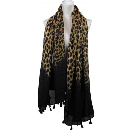 Grrrl Power Leopard Scarf
