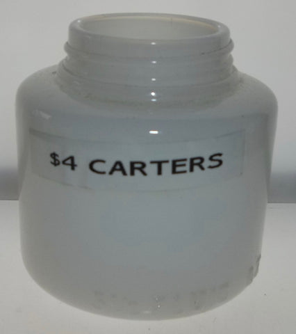 Milk Glass Carter's Ink Bottle