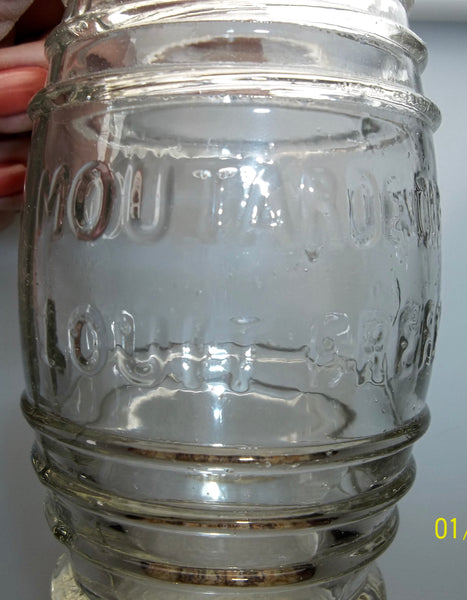 French Mustard Jar from the 1870's