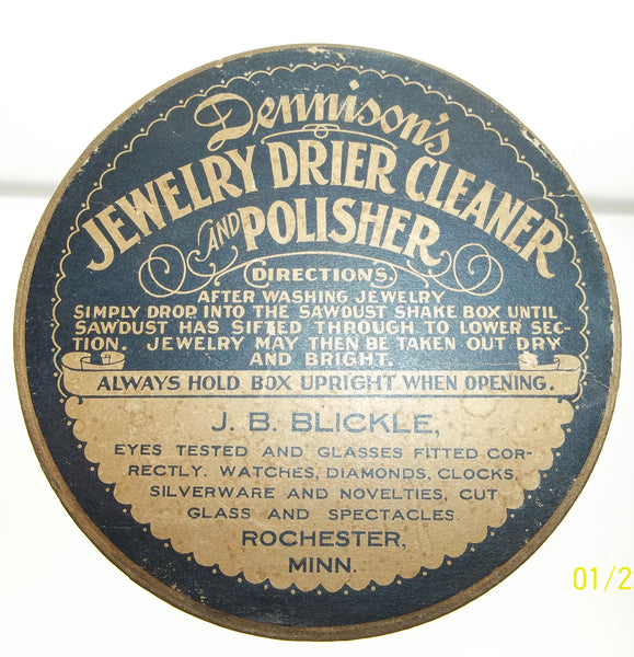 Dennison's Jewelry Drier Cleaner and Polisher Box