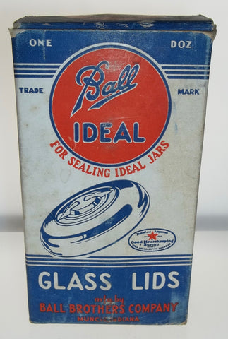 Ball Ideal Glass Lids - Box of One Dozen
