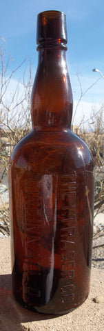 I. Trager Company of Cincinnati, Ohio Whiskey Bottle
