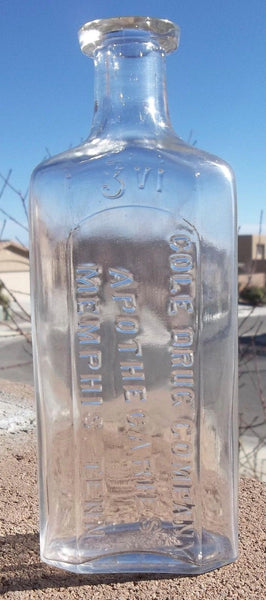 Cole Drug Company Bottle from Memphis, Tenn