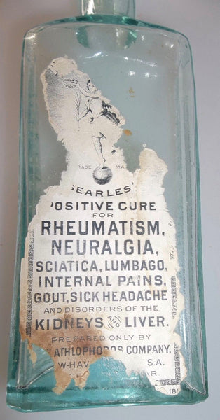 R.N. Searles / Athlophoros Cure with Paper Label