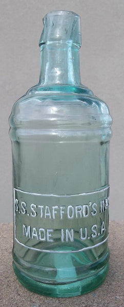 S.S. Stafford's Master Ink Bottle