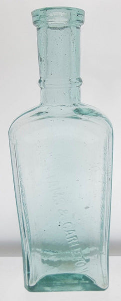 Stylish Williams & Carleton Druggist Bottle from Connecticut