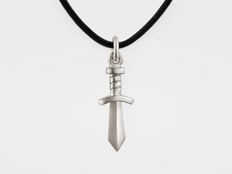 Gladiator Sword Pendant in Sterling Silver