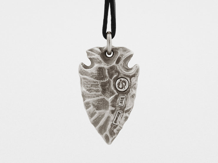Arrowhead Pendant in Sterling Silver