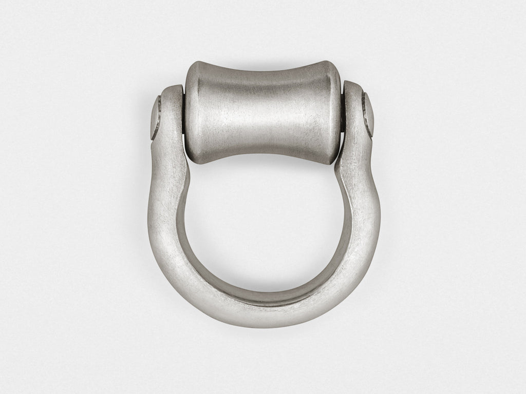 """Roller"" Ring in Sterling Silver"