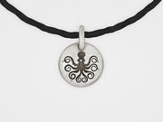 Octopus Charm Bracelet in Sterling Silver