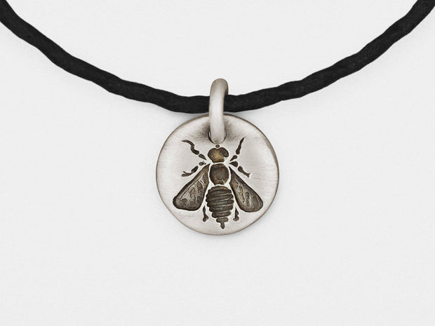 Bee Charm Bracelet in Sterling Silver