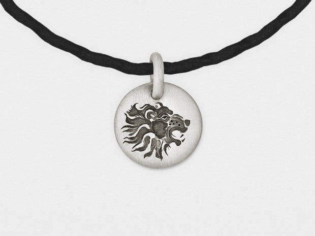Lion Charm Bracelet in Sterling Silver