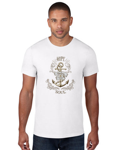 Hope Anchors the Soul Men's Tee