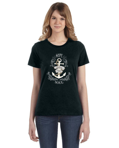 Hope Anchors the Soul Women's Tee