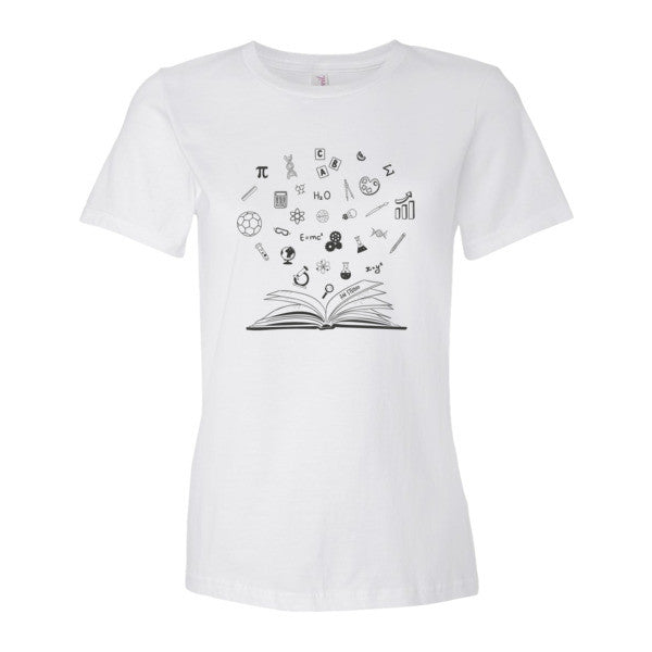 Education Women's Tee Invest in a Child with GiveLight.org