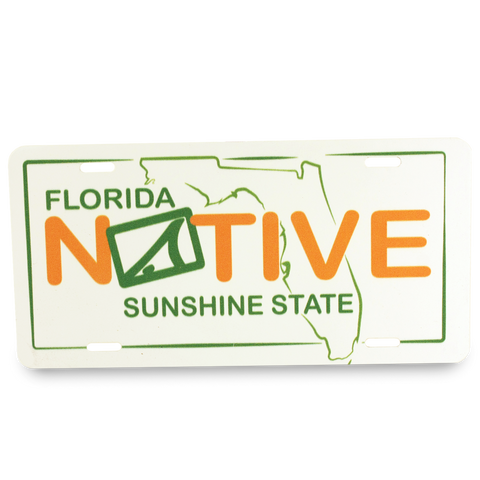Florida Native License Plate - Accessories