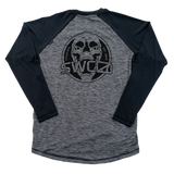 Clearwater Raglan - Skull Art - Performance