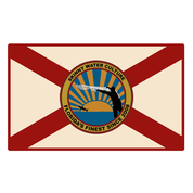 FL Cracker Flag Sticker - Accessories
