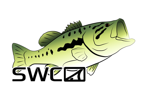 Mirror Largemouth Bass Decal - Accessories