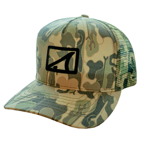 SWC Full Camo Hat-Camo Print - Hats