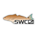 Mirror Redfish Decal - Accessories