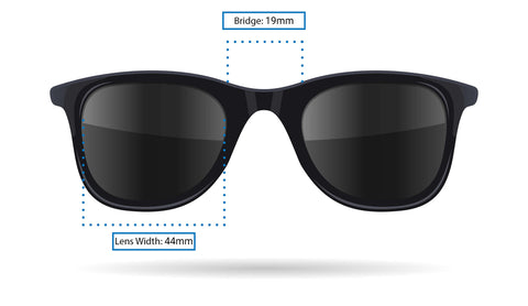 Sustainable Sunglasses Sizing