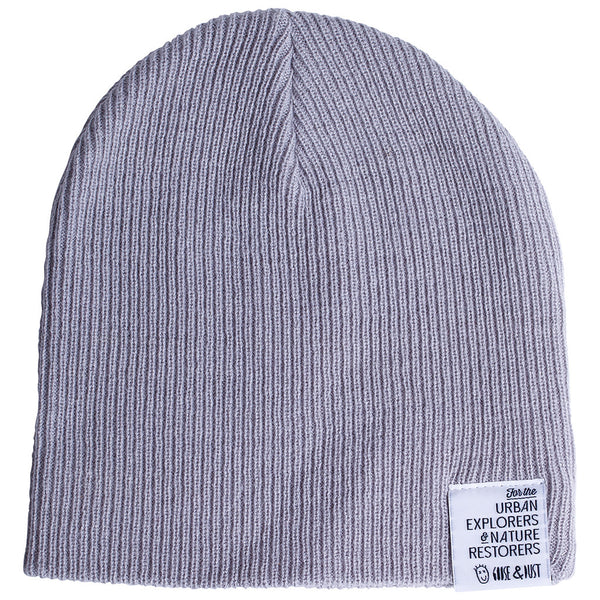 Stone Slouch & Roll Beanie