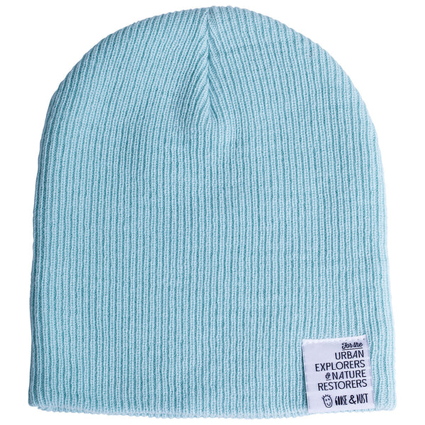 Mint Slouch & Roll Beanie