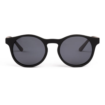 Black Matte Sustainable Sunglasses
