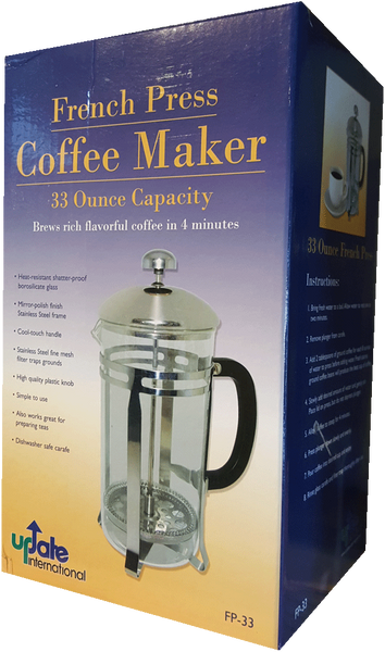 33oz. French Press Coffee Maker - FP33