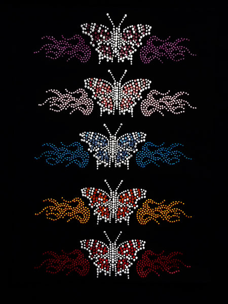 Flaming Butterfly (3pcs)