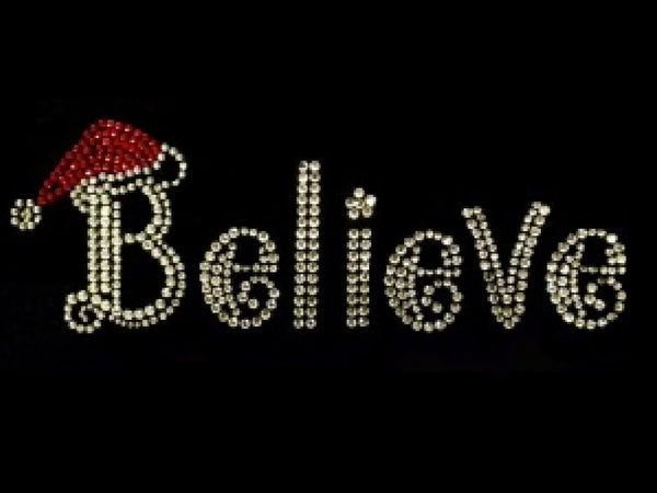 Believe + Santa's Hat (3pcs)