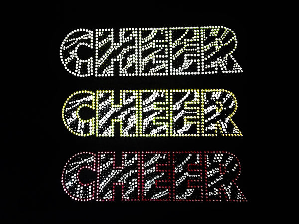 Cheer Zebra Print (3pcs)