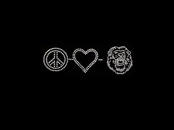 Peace-Love-Lion (3pcs)
