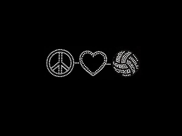Peace-Love-Volleybal (3pcs)
