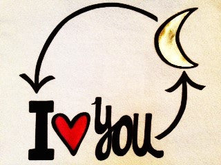 I Love You (Moon & Heart)