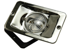 Boat Transom Light Flush Stainless Steel - Boaterbits