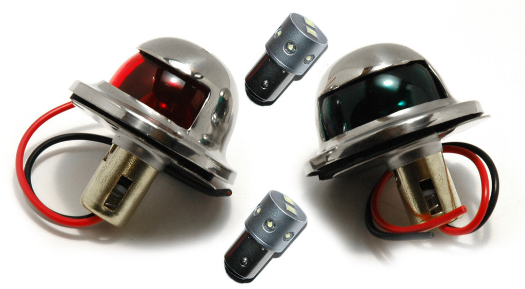 Stainless Steel Boat Navigation Lights Led - Boaterbits