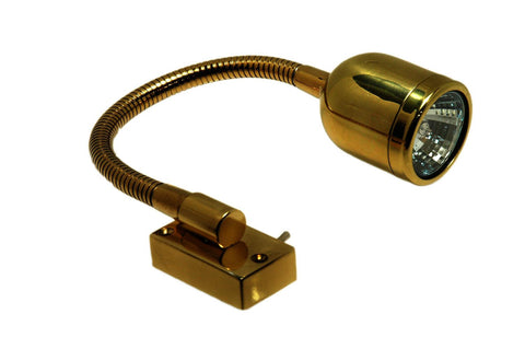 12 Volt Brass Reading / Chart Light - Boaterbits