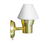 Polished Brass Opal Shade Reading / Accent Light Led 12 Volt 00006 - Boaterbits - 2