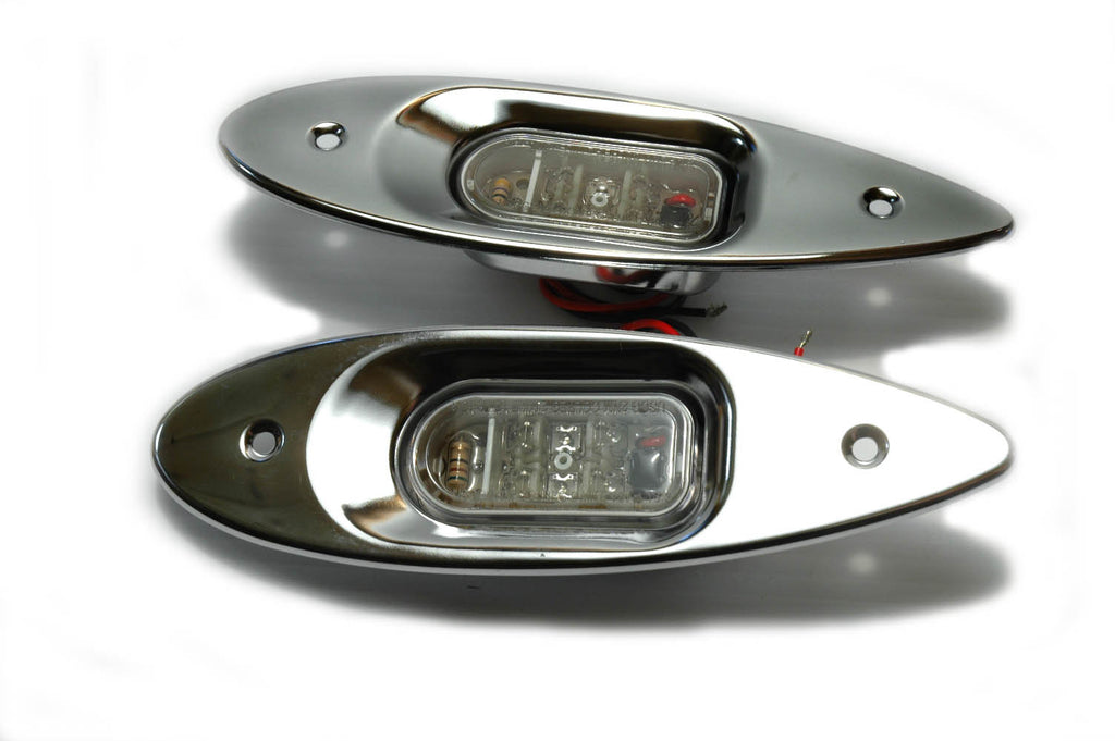 Shark Eye Teardrop Style Led Navigation Lights - Boaterbits