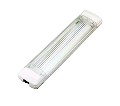 12 Volt 8 Watt Dual Tube Florescent Light - Boaterbits