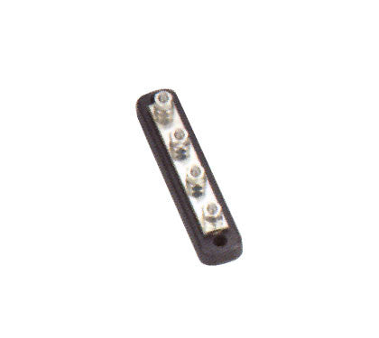 Boat / Rv Electrical Battery Bus Bar 4 Gang - Boaterbits