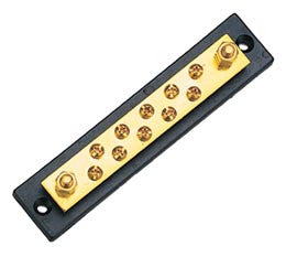 Marine / Rv Electrical Bus Bar 10 Gang - Boaterbits