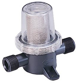 "1/2"" Pipe Inline Water Strainer / Filter - Boaterbits"